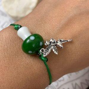Fairy 🧚♂️ garden Crystal macrame bracelet